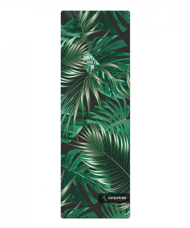 Green Tropical Yoga Mat 2