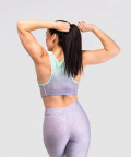 Grey and Mint Ombre Classic Bra 2