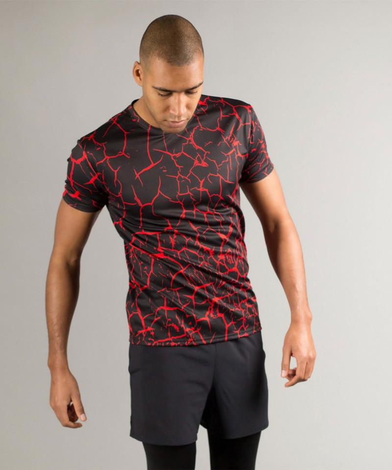 Black Cracks T-shirt