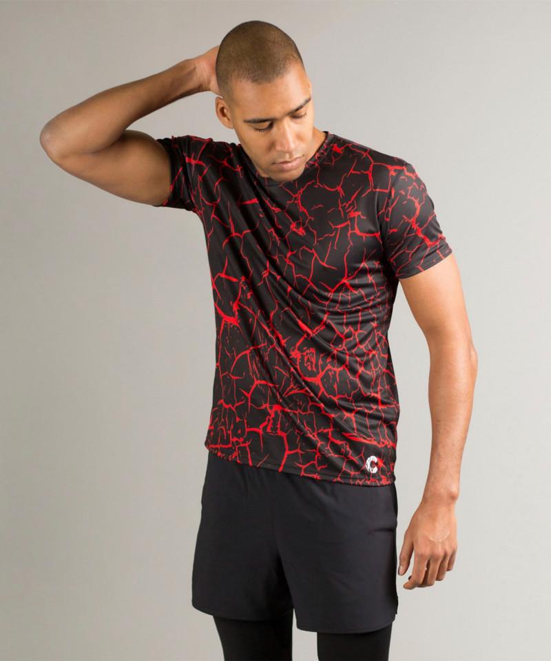 Black Cracks T-shirt 2