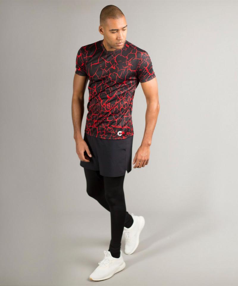 Black Cracks T-shirt 3