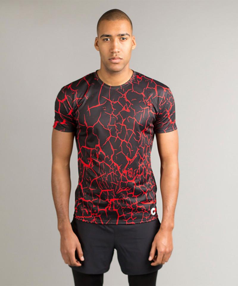Black Cracks T-shirt 5