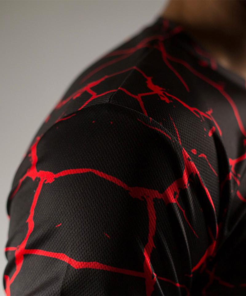 Black Cracks T-shirt 6