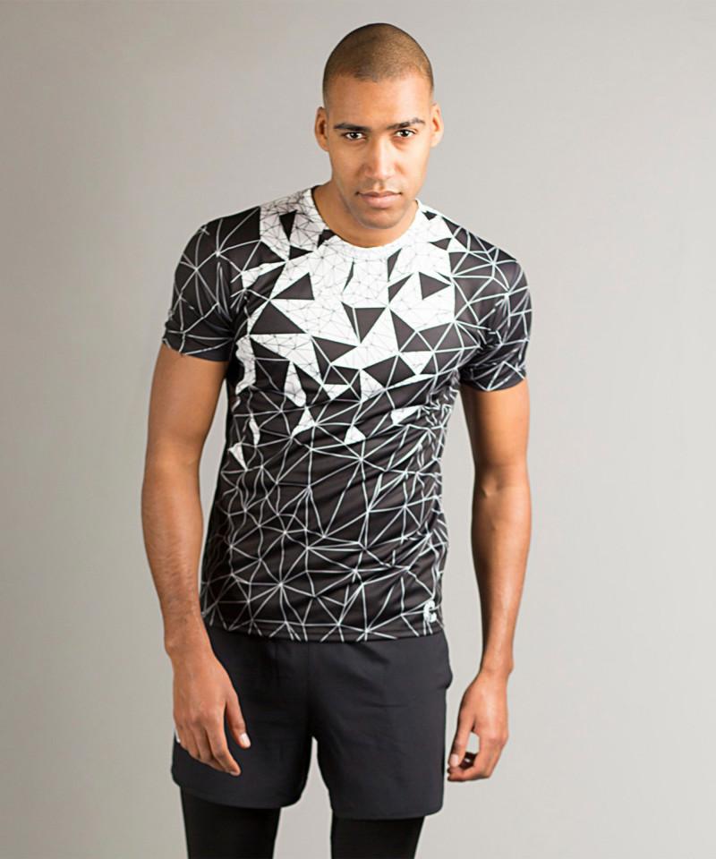 Black Vector Crush T-shirt