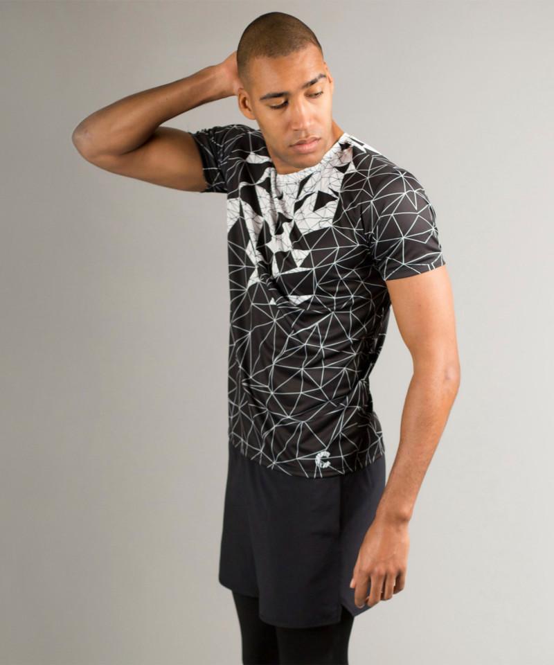 Black Vector Crush T-shirt 2