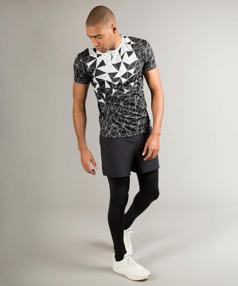 Czarny t-shirt Vector Crush 3