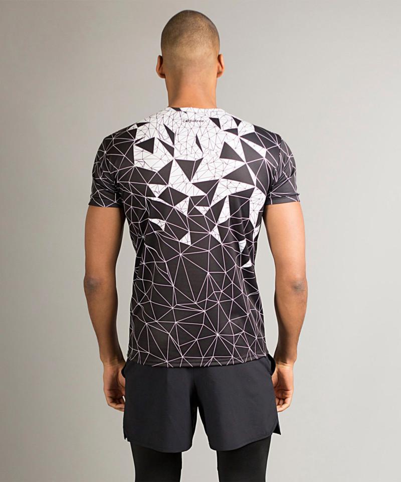 Czarny t-shirt Vector Crush 6