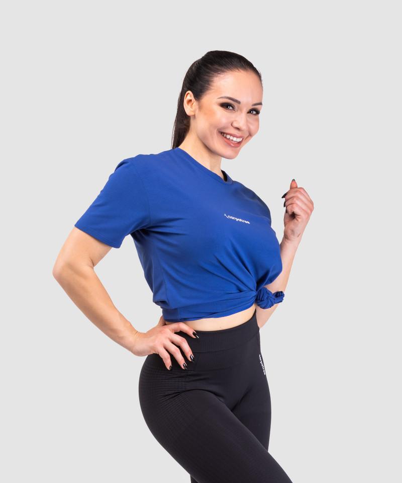 Blue Loose T-shirt  4