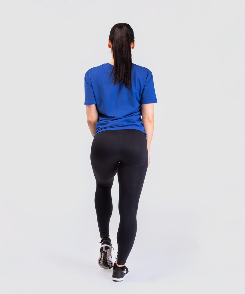 Blue Loose T-shirt 5