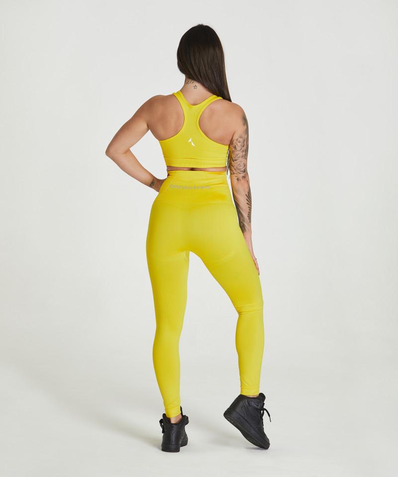 Yellow Essential Seamless Bra 5