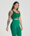 Essential Seamless Bra, Leaf Green