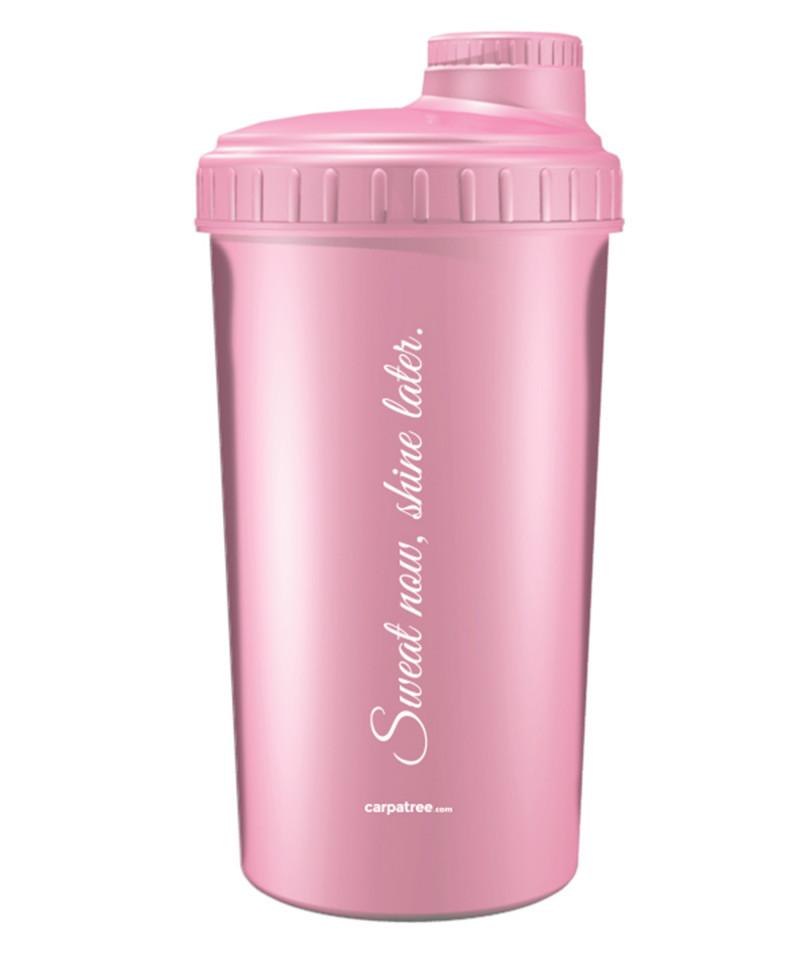 Розовый шейкер