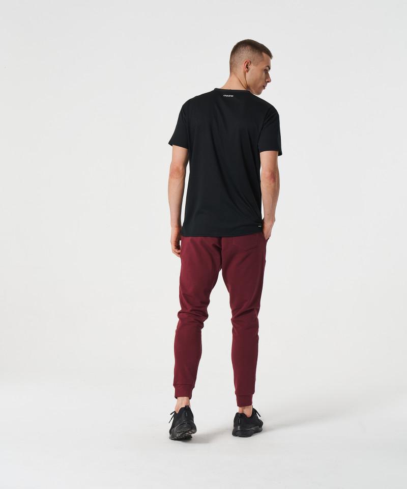 Czarny t-shirt termoaktywny 5