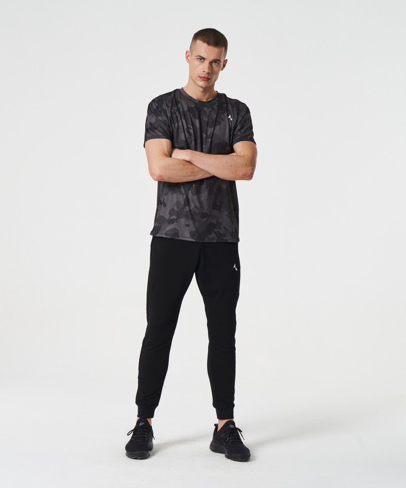 Black Camo Thermoactive t-shirt 5