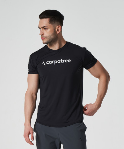 Schwarzes Status Thermoaktives T-Shirt 1
