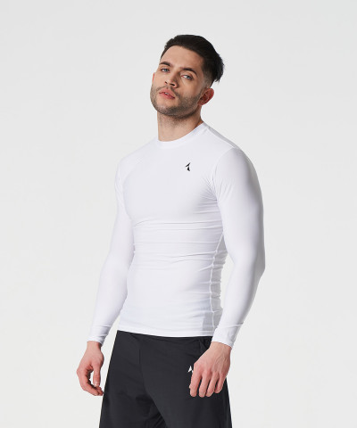 White Prime Compression Longsleeve 1