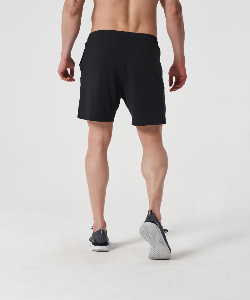Black Voyager Zipped Shorts 4