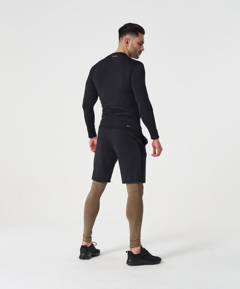 Мужские Черные шорты Helium 3