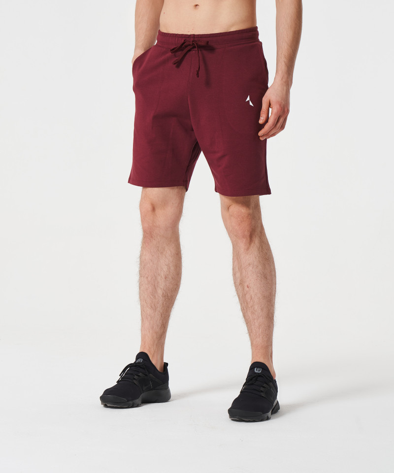 Burgundy Alpha Shorts 1