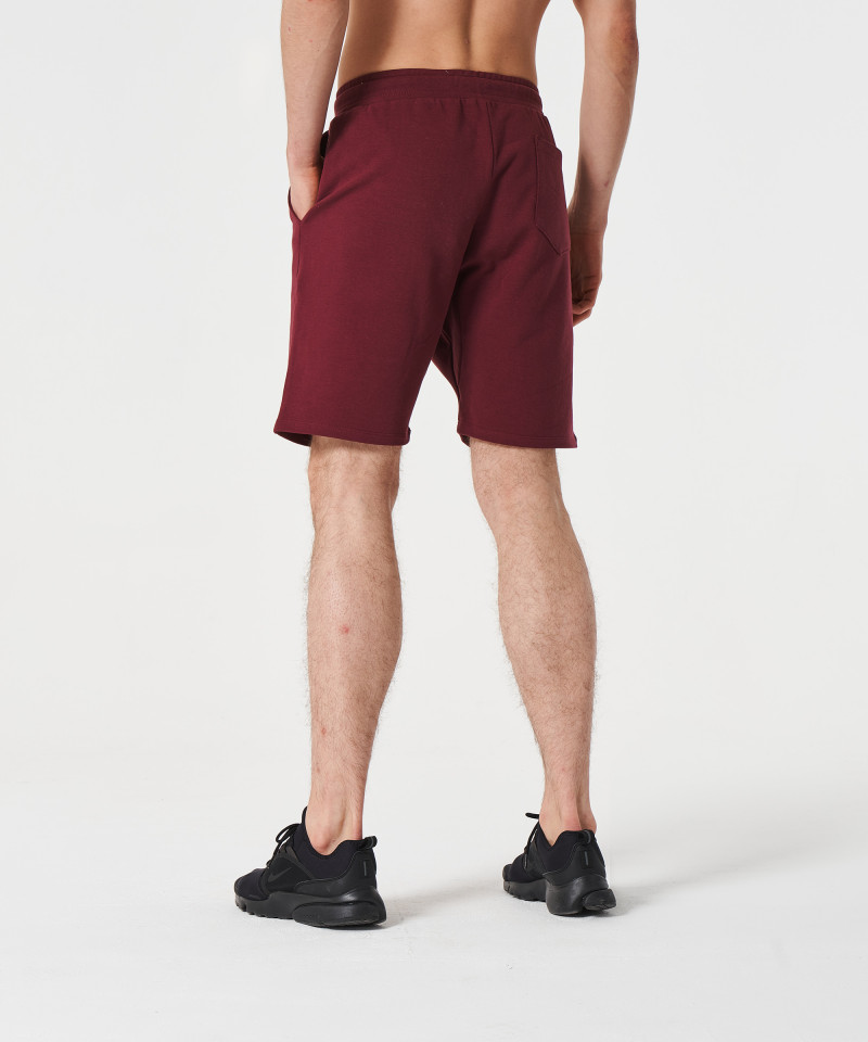Burgundy Alpha Shorts 4