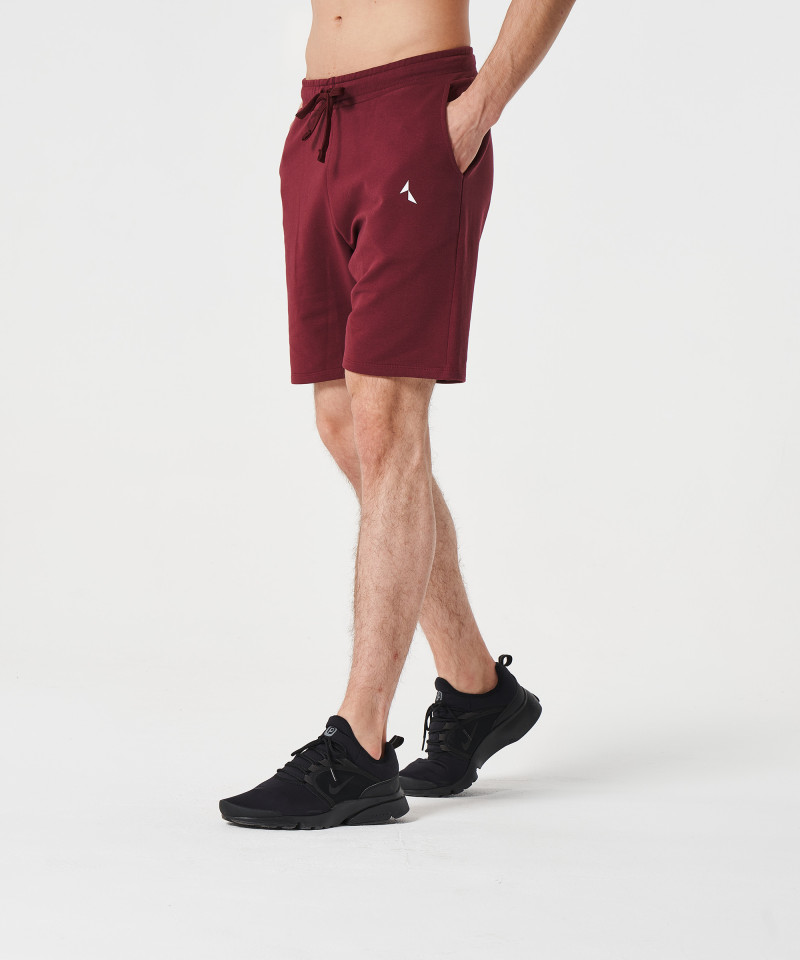 Burgundy Alpha Shorts 5