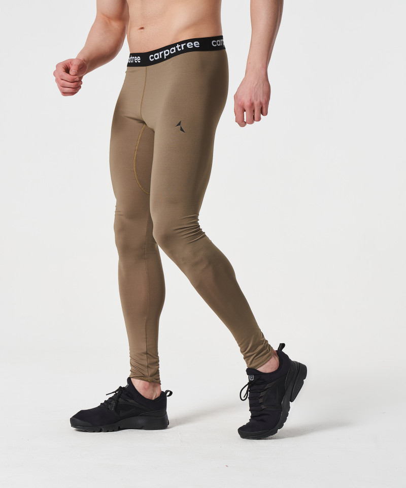 Khaki Fuse Leggings 1