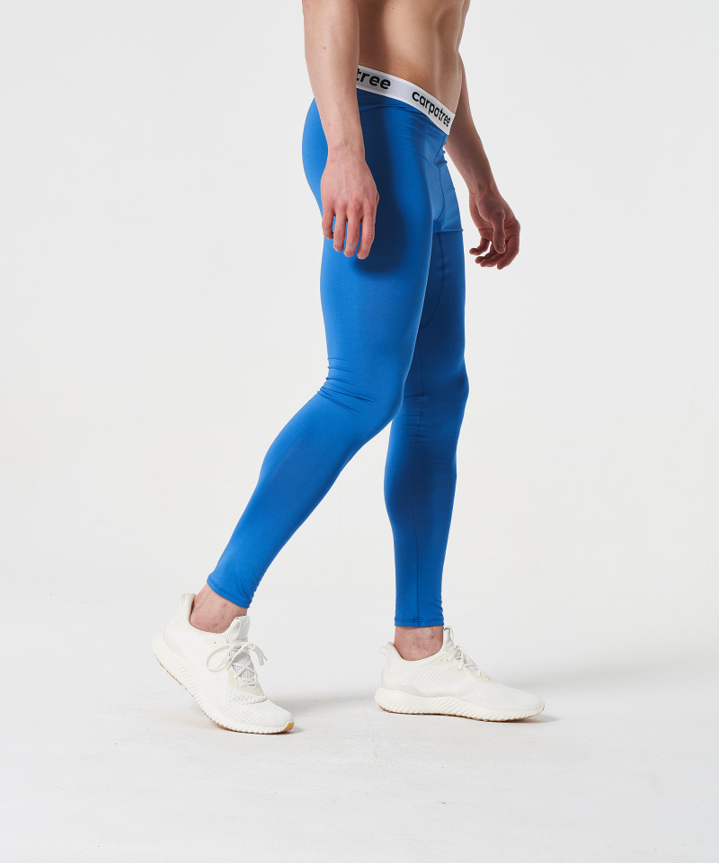 Мужские синие леггинсы Fuse 4