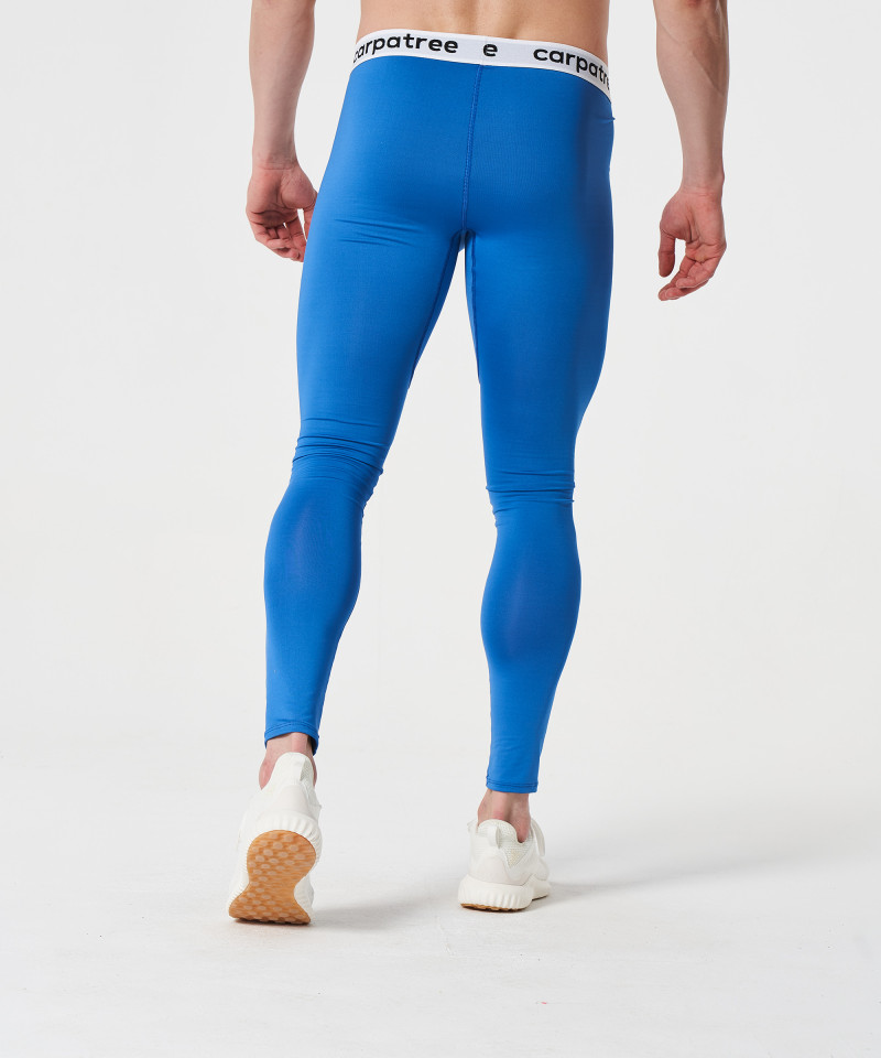 Мужские синие леггинсы Fuse 5
