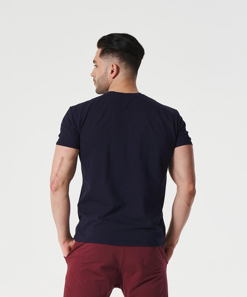 Marineblaues Landmark-T-Shirt 2