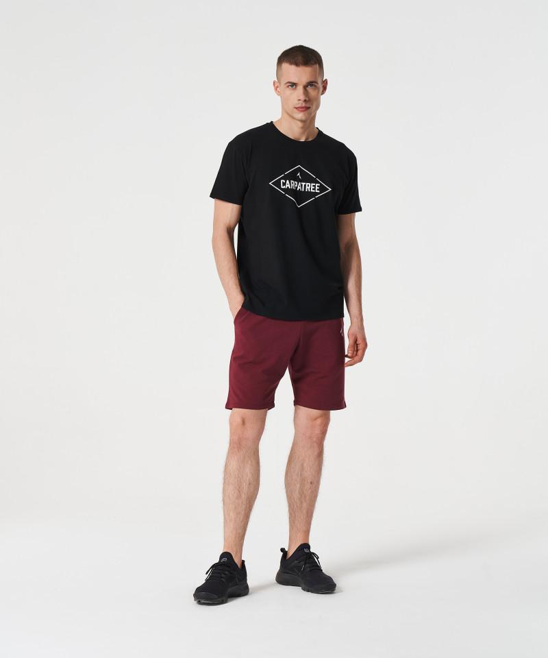 Czarny t-shirt Signed 3