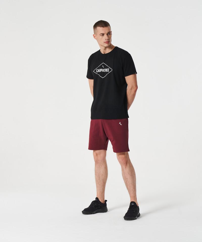 Czarny t-shirt Signed 4