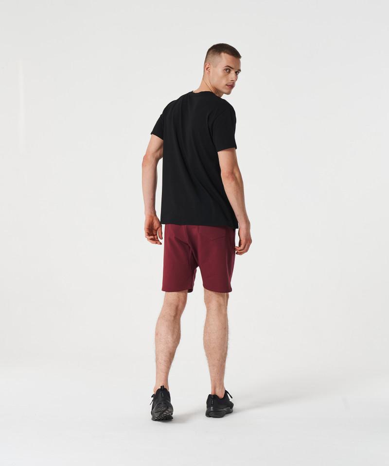 Czarny t-shirt Signed 5