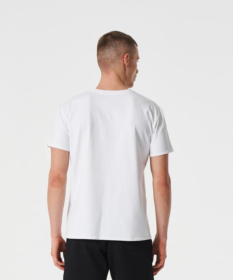 Weißes Blend-T-Shirt 2