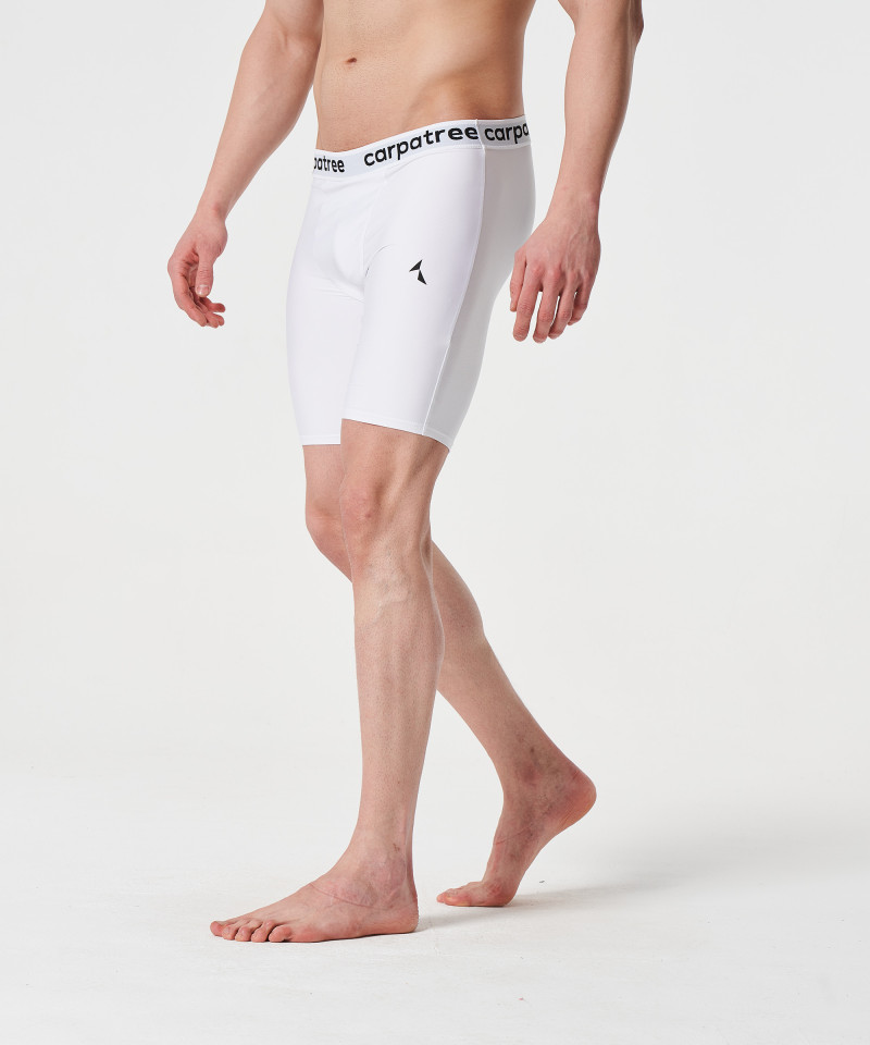 White Thermoactive Shorts 1