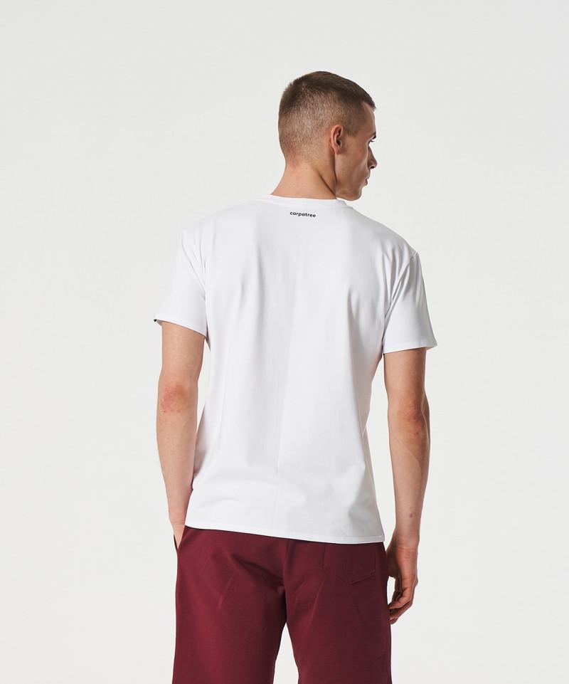 Мужская Белая футболка Scout 5
