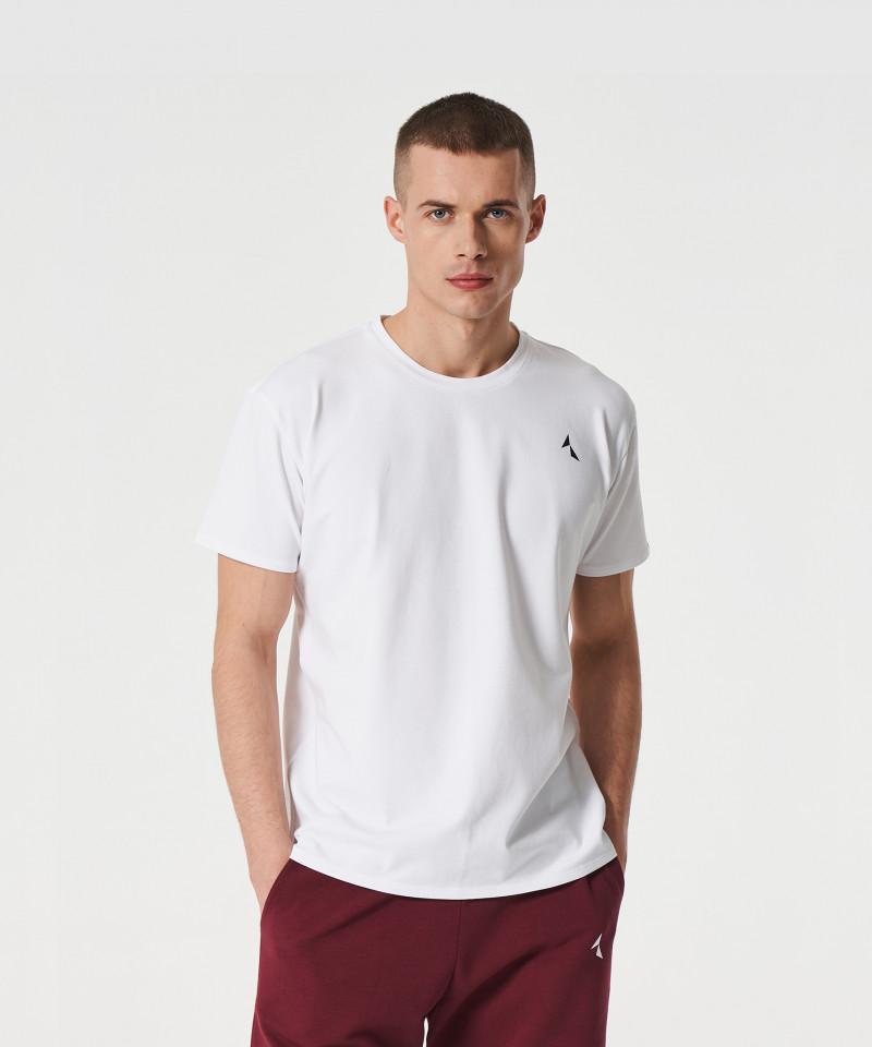 Мужская Белая футболка Scout