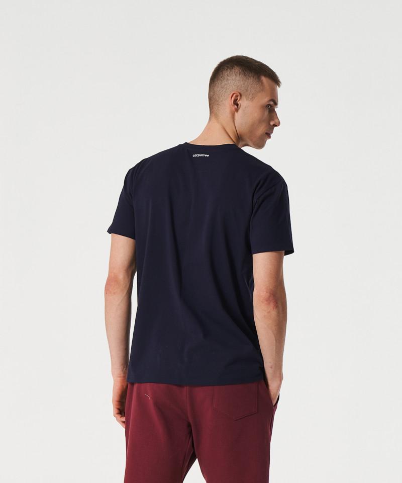 Granatowy t-shirt Scout 4