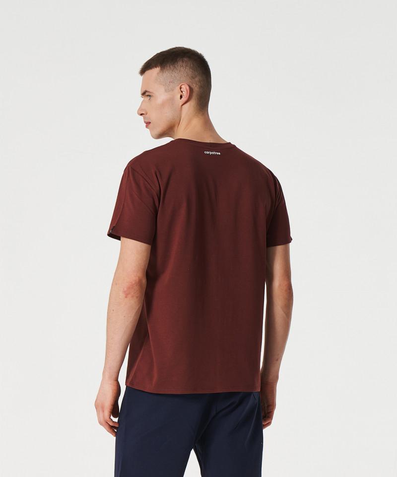 Burgundowy T-shirt Scout 5