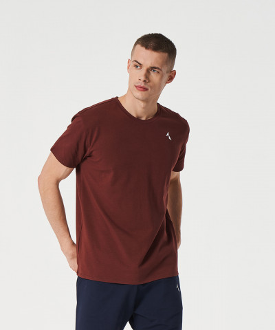 Burgundowy t-shirt Scout 1