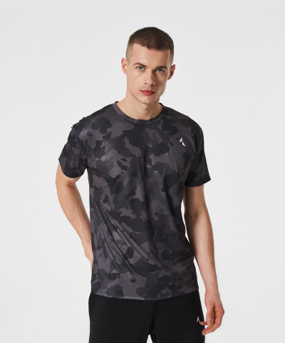 Black Camo Thermoactive t-shirt 1