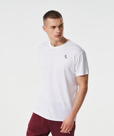 White Analog Thermoactive T-shirt 1