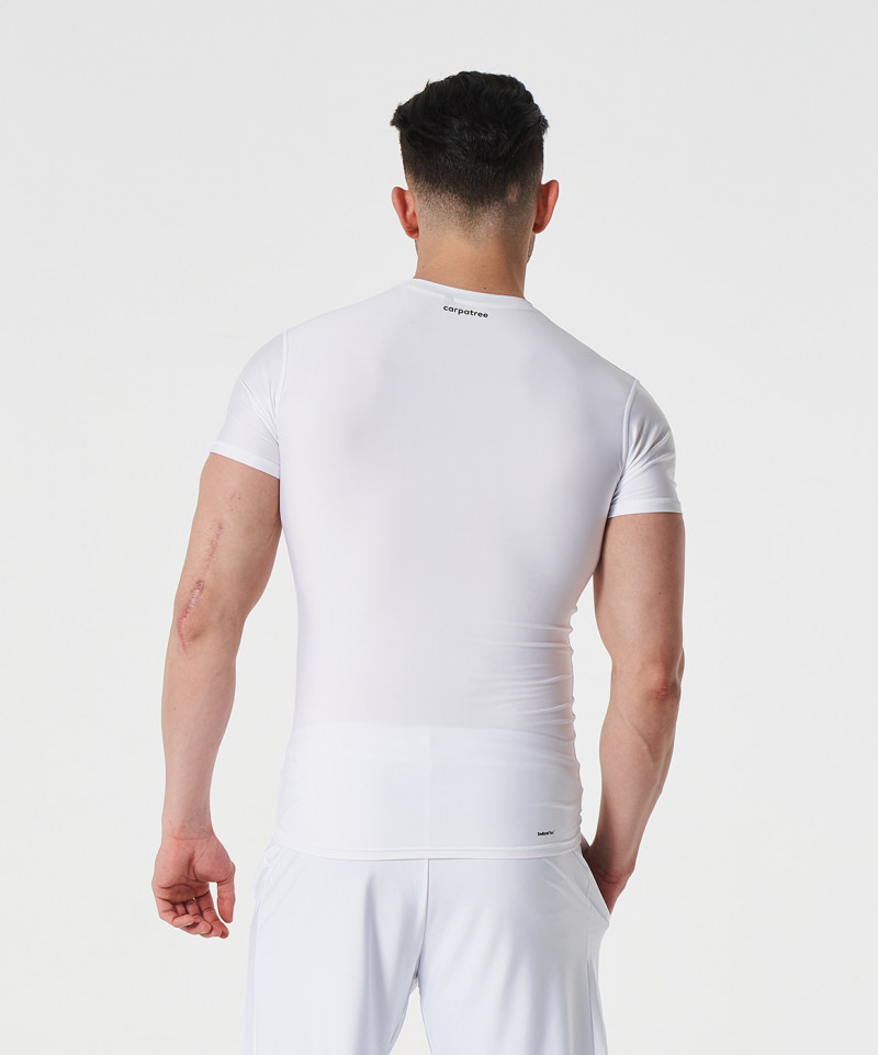 White Delta Compression T-shirt 4