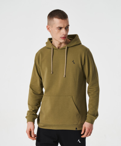 Olive Scout Hoodie 1