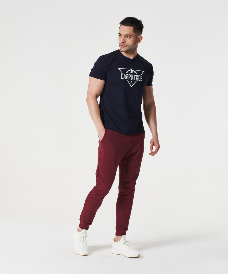 Marineblaues Landmark-T-Shirt 3