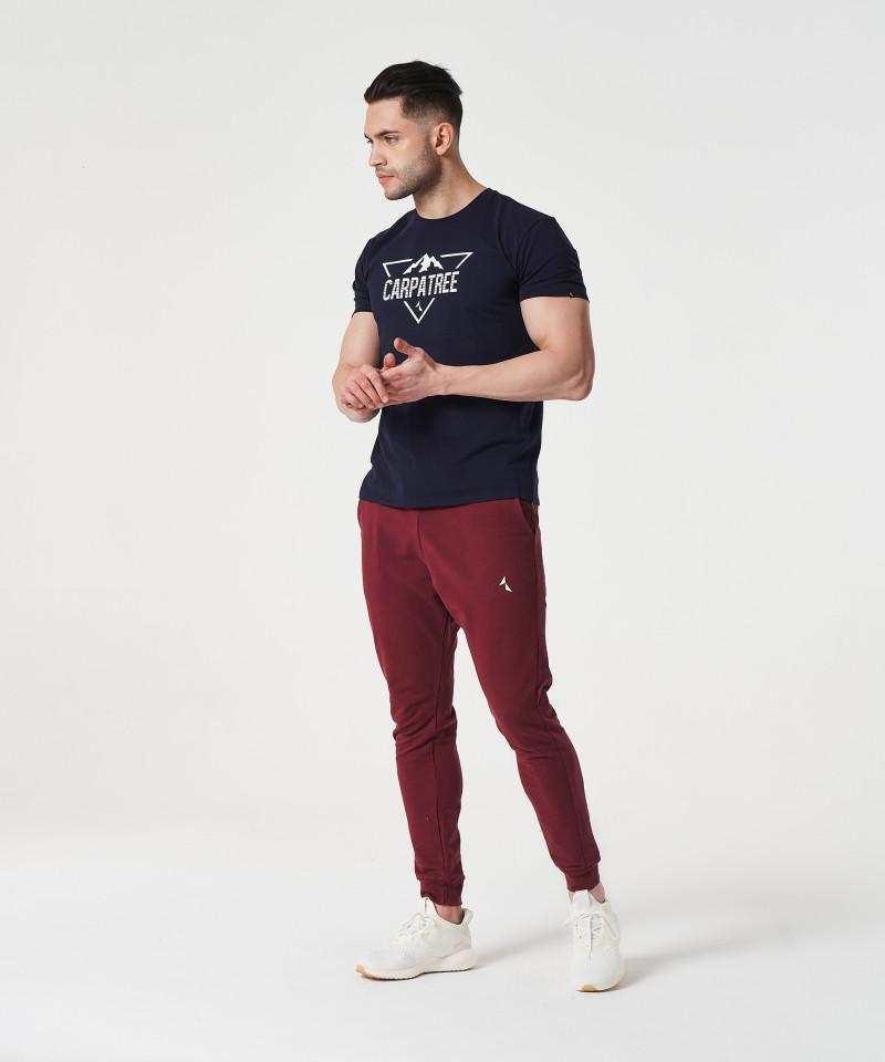 Marineblaues Landmark-T-Shirt 4