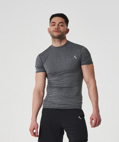 Jasny melanż T-shirt kompresyjny Delta 1