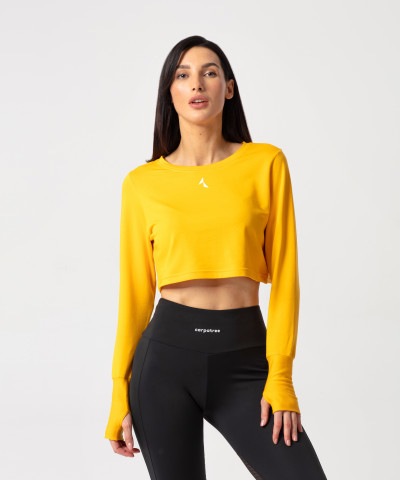 Yellow Cheery Sweatshirt 1