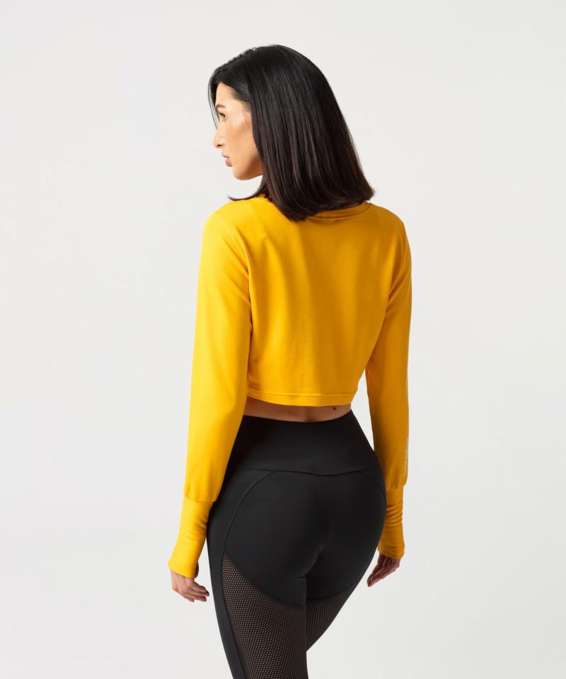 Yellow Cheery Sweatshirt 2