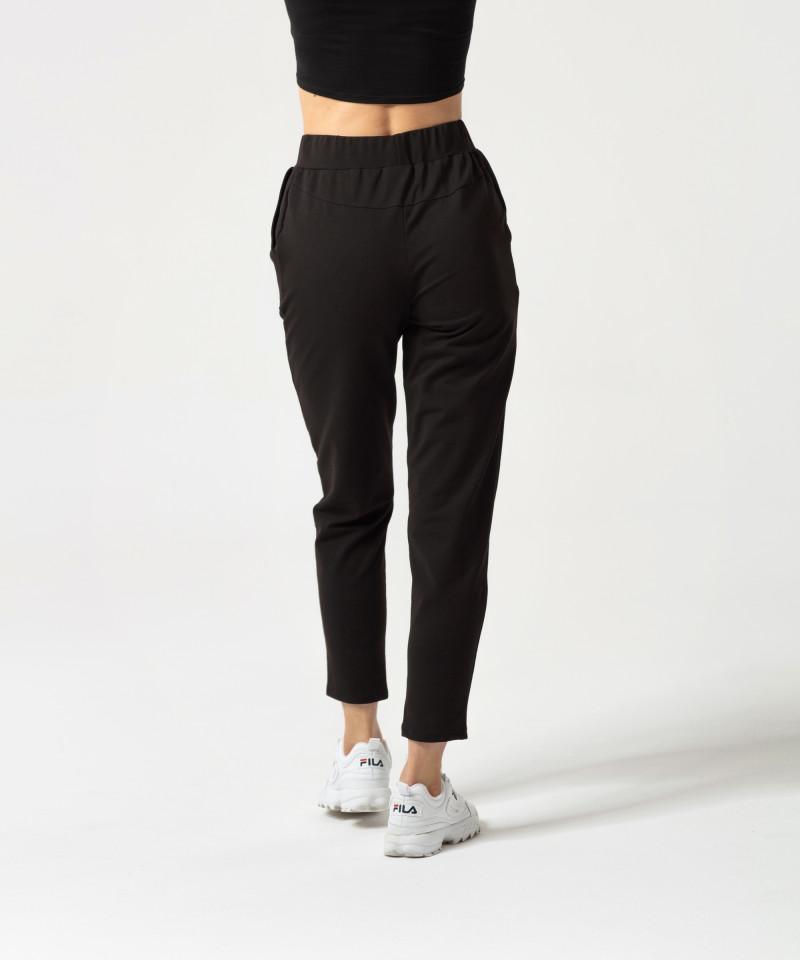 Женские черные штаны с лентой Ultimate