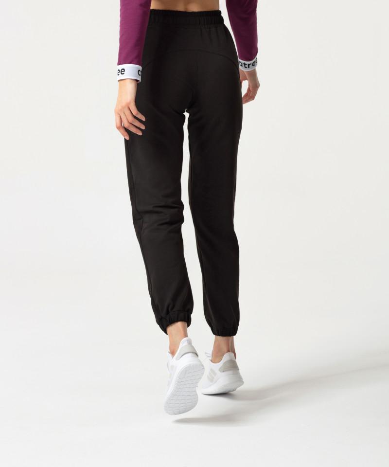 Czarne spodnie Relaxed 2